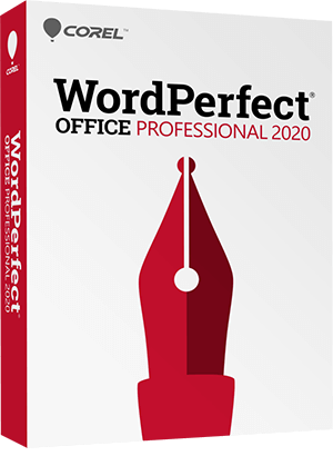 WordPerfect Office 2020 - Professional Edition box