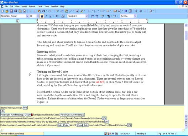 Wordperfect office tutorials codes01 9k freerunsca Image collections