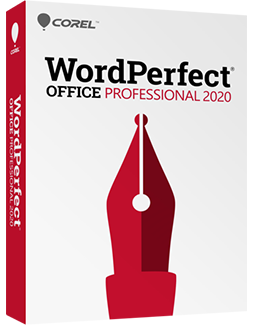 WordPerfect Office 2020 - Professional Edition,, The Legendary Office Suite