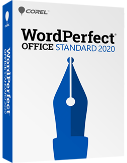 WordPerfect Office 2020 - Standard Edition (Upgrade), The Legendary Office Suite