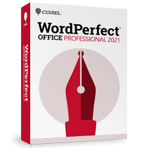 Image of WordPerfect Office 2021 – Professional Edition, The Legendary Office Suite