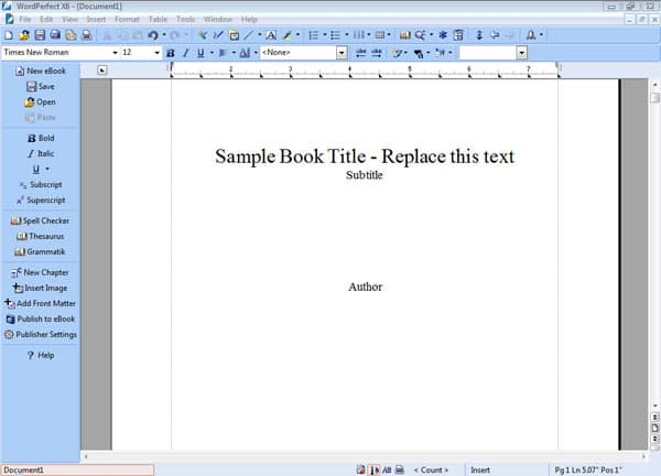 figure 5 the front matter tool automatically generates a title page copyright and dedication