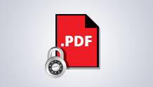 PDF security and archiving