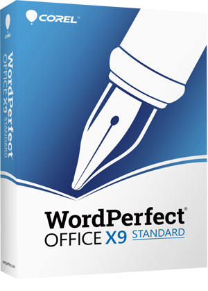 WordPerfect Office X9 - Standard Edition box