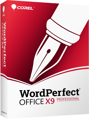 WordPerfect Office X9 - Professional Edition (Upgrade), The Legendary Office Suite
