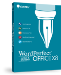 WordPerfect Office X8 Home & Student Edition