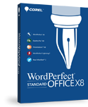 WordPerfect Office X8 Standard Edition